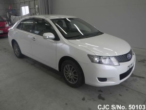 Toyota Allion 2009 White Front View