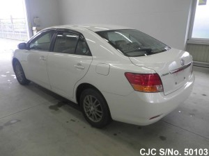 Toyota Allion 2009 White Rear View
